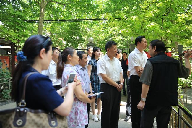 认证认可进社区助力生活质量提升--中国认证认可协会党总支开展社区共建交流