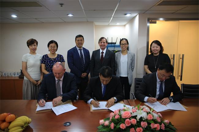 中国认证认可协会(CCAA)与Examplar Global以及美国质量学会(ASQ)北亚区三方签署人员认证领域合作协议