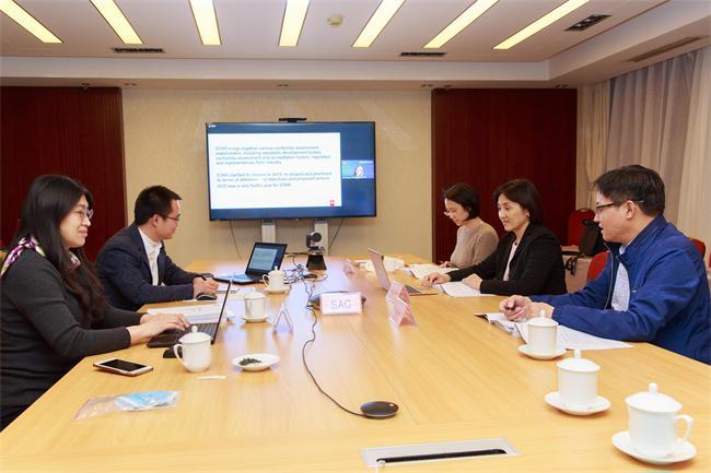 中国代表团参加第 35 届 ISO/CASCO 全体会议